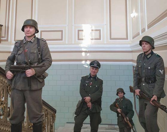 Съемки фильма о войне проходят на Нижегородской ярмарке - фото 1