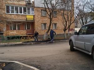 Работы по благоустройству двора на Маршала Жукова завершатся до конца недели