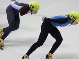 Нижегородская спортсменка победила на первенстве ПФО по шорт-треку