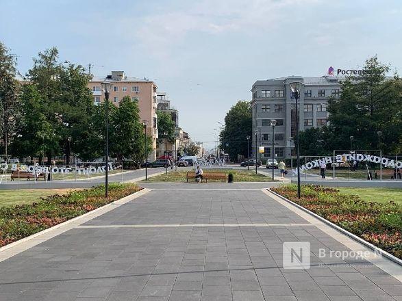 Сквер на площади Горького открыли для нижегородцев - фото 5