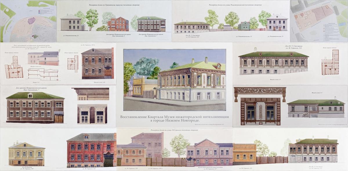 Восстановление «Квартала 1833 года» в Нижнем Новгороде обойдется в 4 млн рублей - фото 1