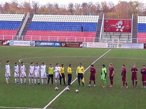 Нижегородские футболисты сыграли вничью с саранской «Мордовией» в финале первенства России